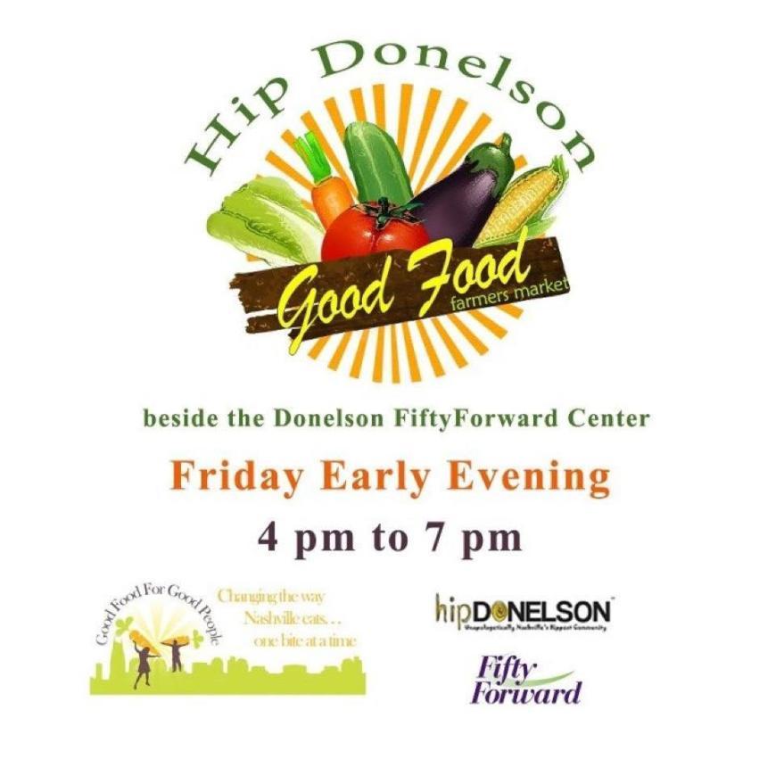 Hip Donelson Farmer's Market acoustic performance